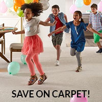 Carpet on sale this month at Ultimate Flooring in Cape, Sikeston, and Dexter!