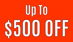 Up to $500 OFF Graber Blinds & Shutters this month only - see store for details!