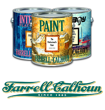 Farrell Calhoun paints