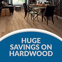 Customer Apperciation Sale - Huge Savings on Hardwood Flooring - 12 Months Interest Free Financing