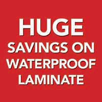 Save on waterproof laminate during our home makeover sale at Ultimate Flooring & Paint in missouri