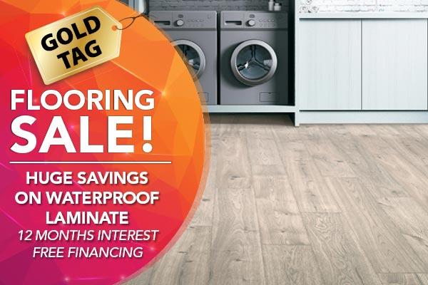 Huge savings on waterproof laminate