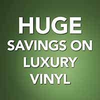 Huge savings on waterproof luxury vinyl during our Back to School Sale! 12 months interest free financing